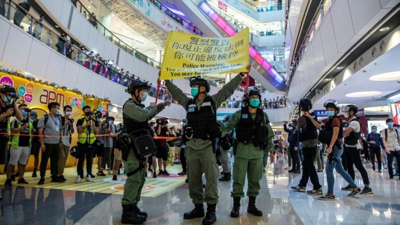 Hong Kong Police Used #HKIndependence