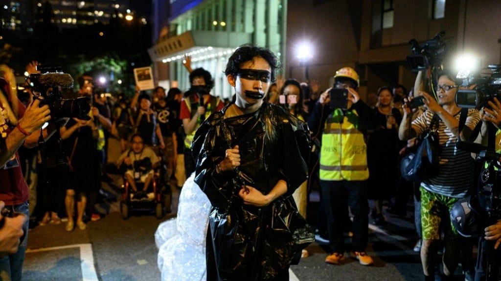 Hong Kong Protester ©AFP