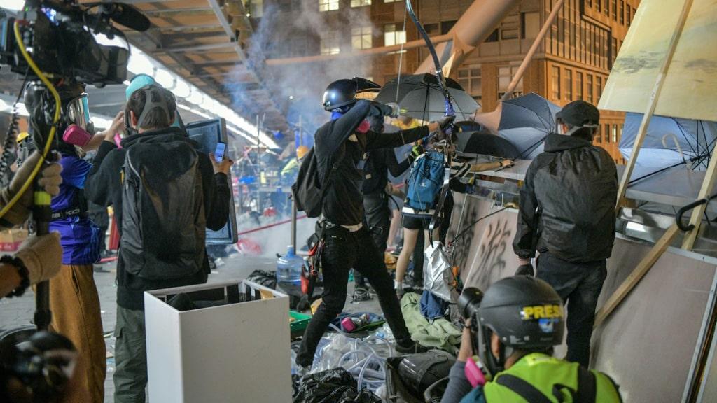 Hong Kong Protesters ©AFP