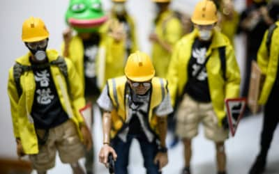 Hong Kong Protest Toy Models Become Major Hit