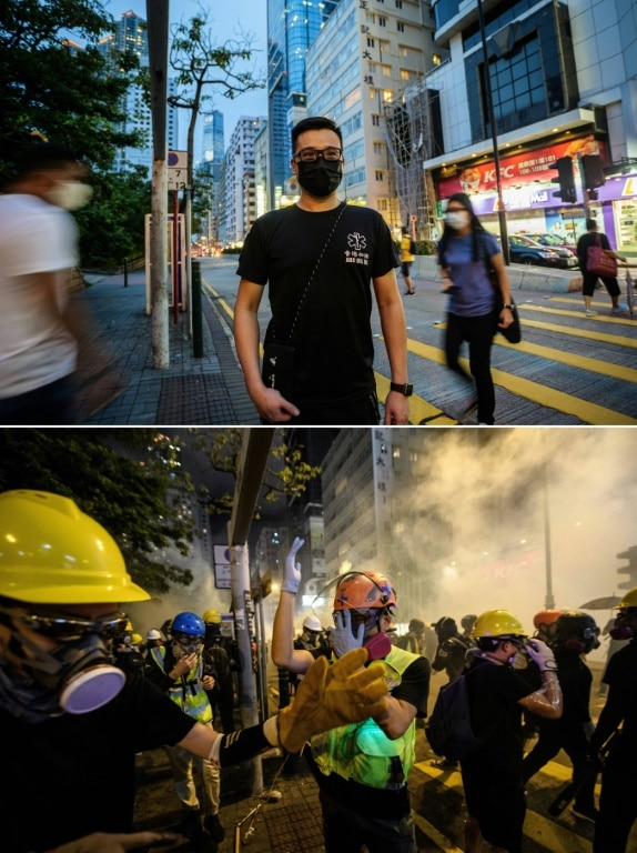 Hong Kong Tsim Sha Tsui Shopping District.afp