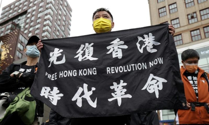 Hong Kongers Protesting for Democracy