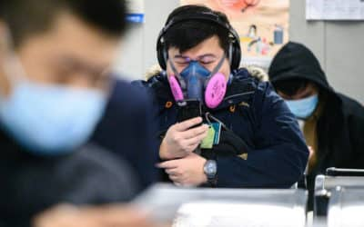Virus Fears Spreads Panic over Hong Kong's Daily Life