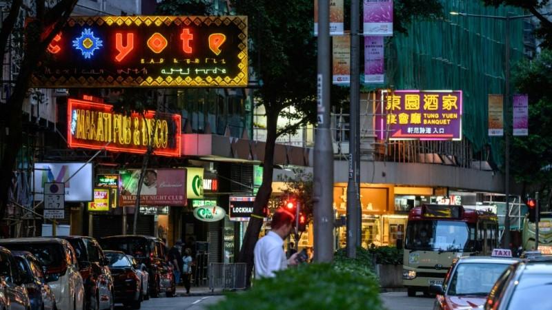 Hong Kong's Entertainment District