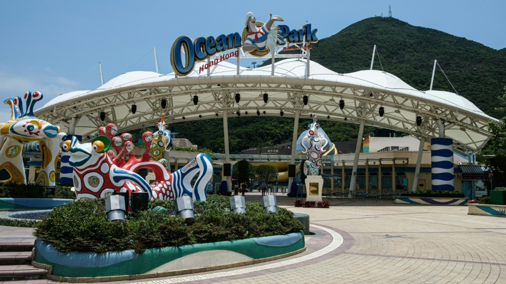 Hong Kongs Ocean Park.afp