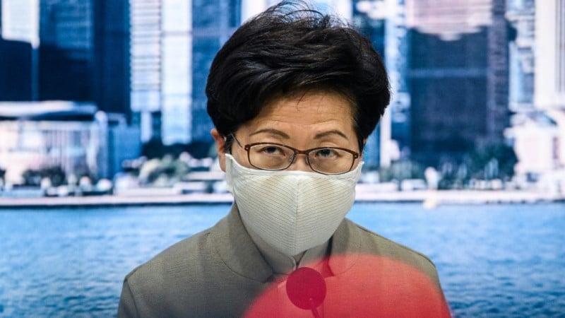 Hong Kong's Pro-Beijing Leader