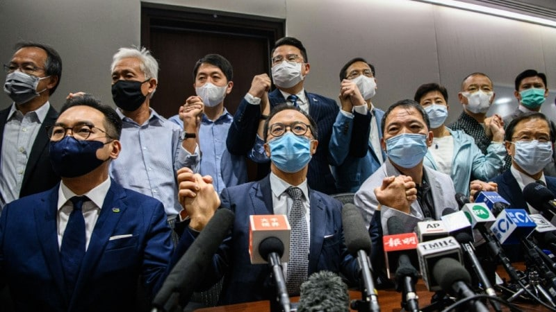 Hong Kong's Pro-democracy Lawmakers