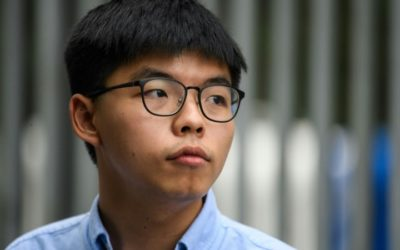 Hong Kong Activist Joshua Wong Calls for Solidarity As Books Ordered Removed