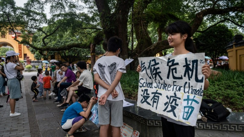 Howey Ou Climate Protest