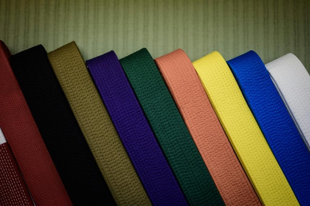 Judo Uniform Colored Belts