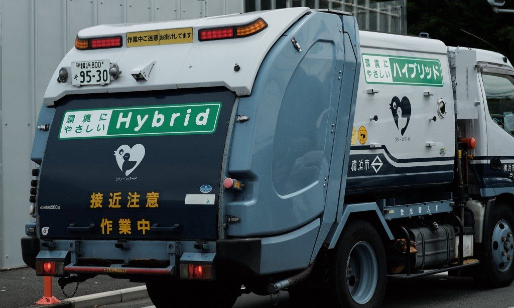 Hybrid Garbage Truck - Japan