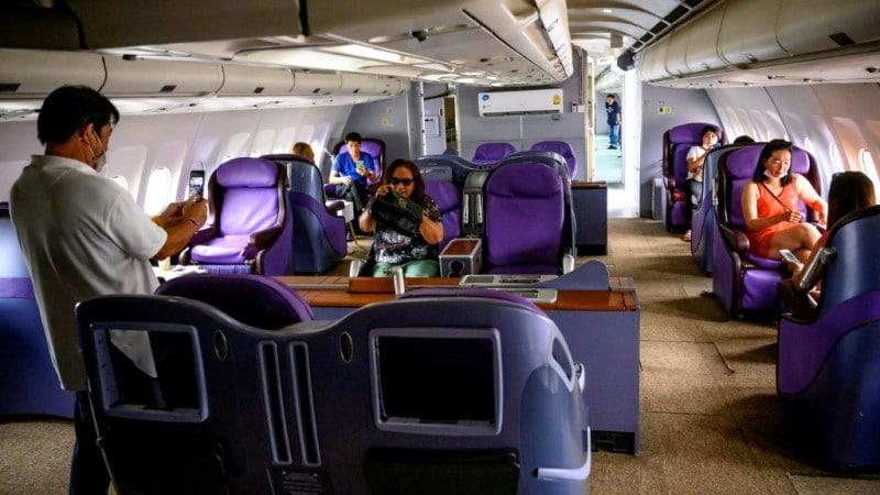 Thailand Plane Cafe