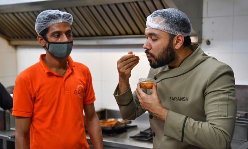 Indian Celebrity Chef Saransh Goila