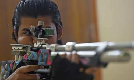 Indian Shooter Uses Apartment as Makeshift Range