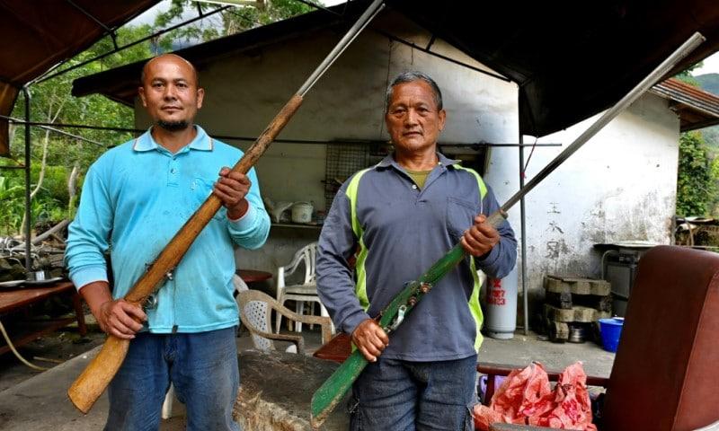 Indigenous Hunter Tama Talum