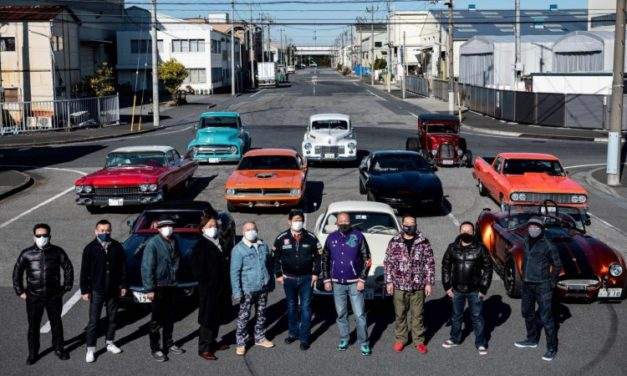Old but Gold: Tokyo's Retro Car Owners Revel in Modern Classics