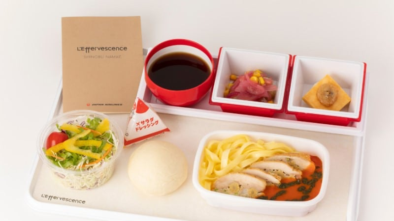 Japan Airline Meal
