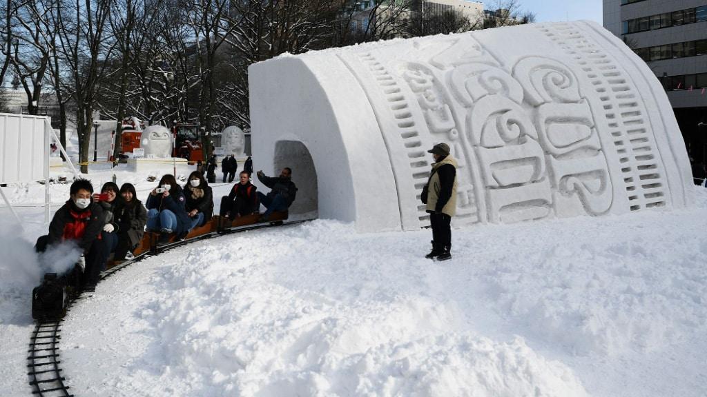 Japan Sapporo Snow Festival.afp
