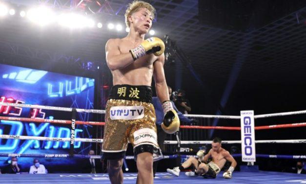Japan's Unbeaten 'Monster' Inoue KOs Moloney in Las Vegas Debut