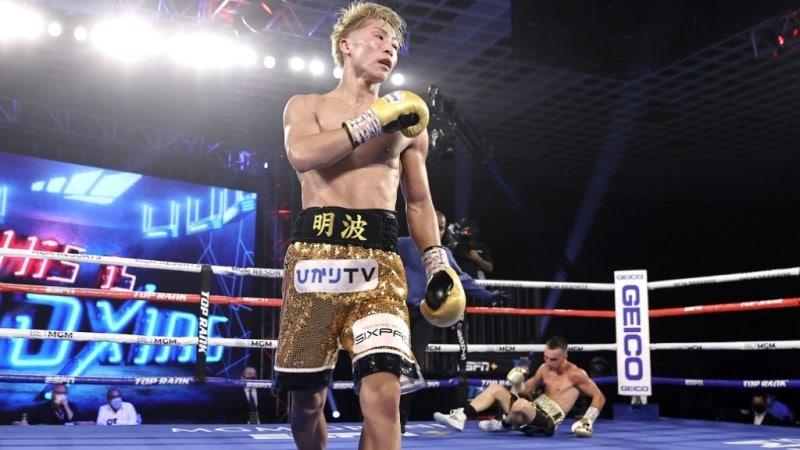 Japanese Boxer Naoya Inoue