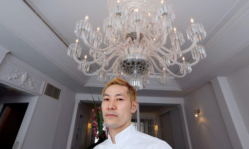 Japanese Chef Kei Kobayashi.afp