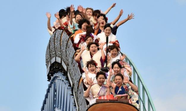 No Screaming Please: Japanese Amusement Parks Prepare for Virus Era