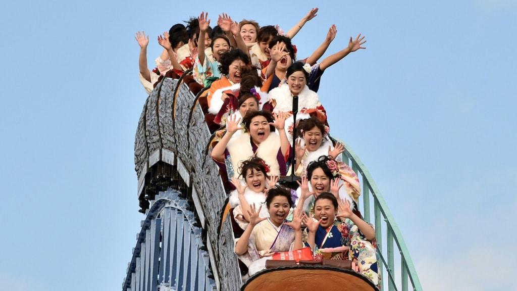 Japanese Funfairs.afp