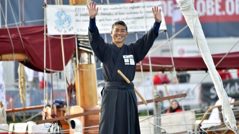 Japanese Sailor Kojiro Shiraishi