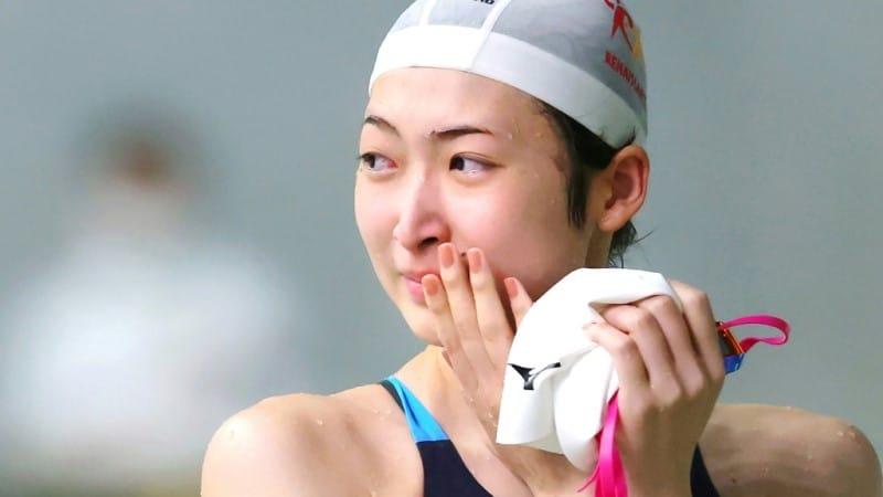 Japanese Swimmer Rikako Ikee
