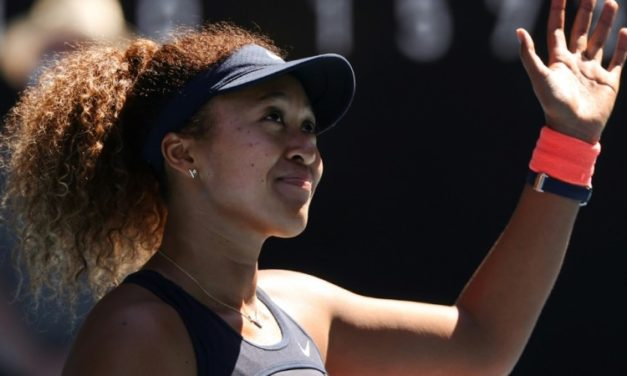 "Japan's Naomi Osaka Says Eating Greek Food ""Maybe a Sign"""