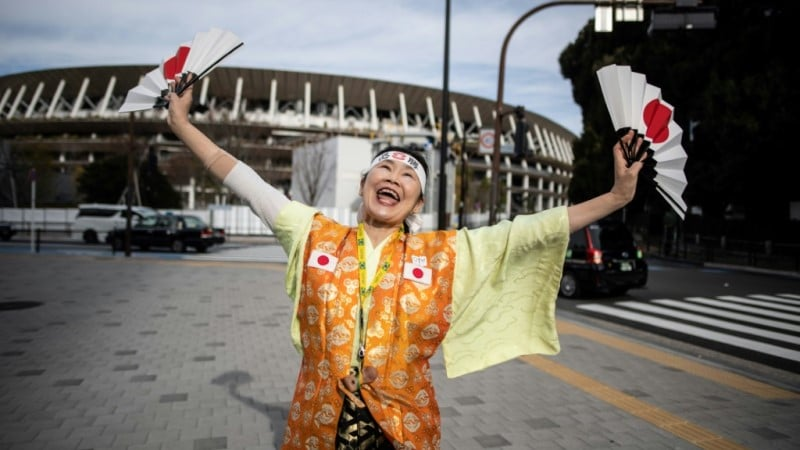 Japan's Olympic Super-Fan