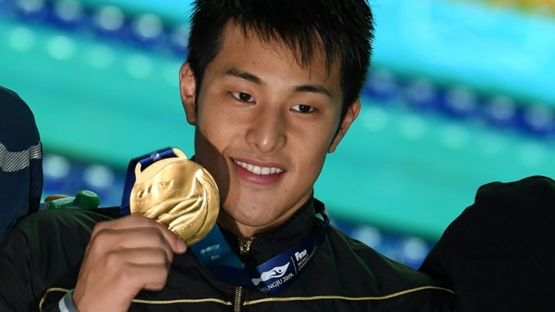 Japan's Olympic Swimmer Daiya Seto