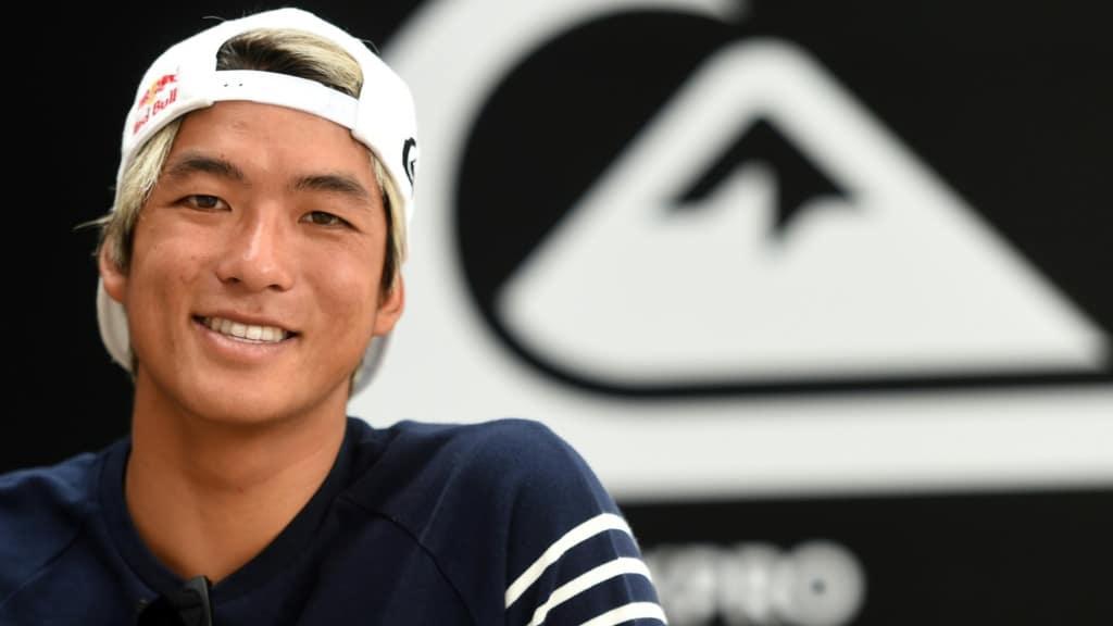 Japan's Top Surfer Kanoa Igarashi.afp