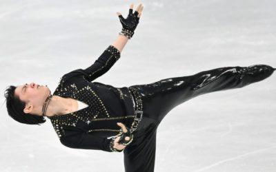 Advantage Hanyu as Rival Chen Falls at World Championship