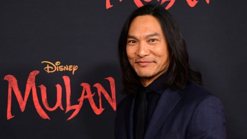 Jason Scott Lee the Villain in Mulan