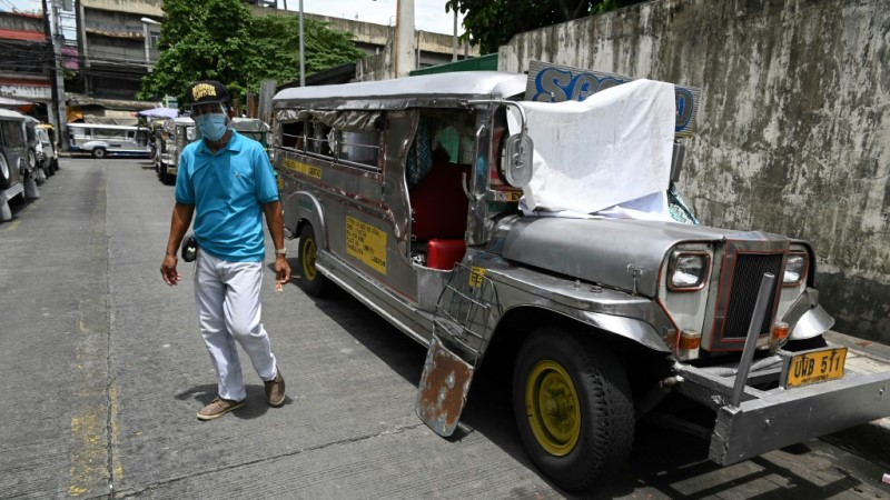 Jeepneys Serves as Temporary Homes