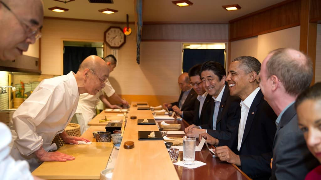 Jiro Sushi ©Obama White House