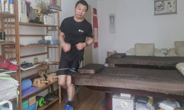 Man Runs Ultra Marathon in Apartment as China Fights Virus