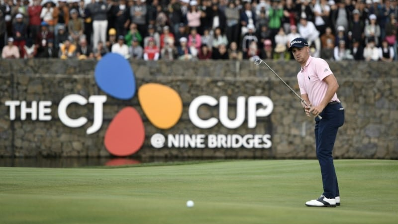 Justin Thomas at CJ Cup