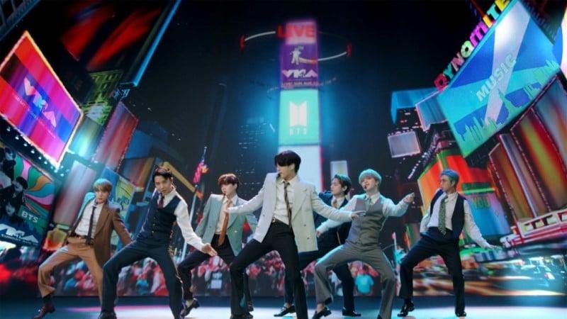 K-pop BTS Single Dynamite