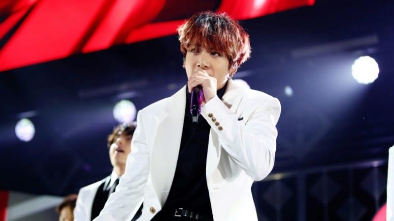 K-pop Band BTS Singer Jungkook