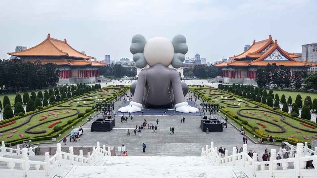 KAWS - Chang Kai Shek Memorial - Taipei