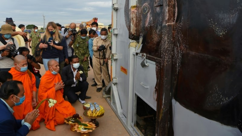 Kaavan Arrived in Cambodia