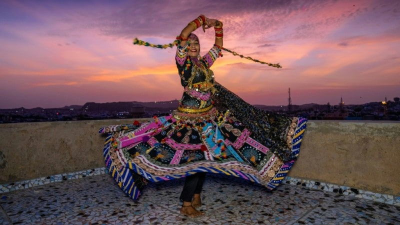 Kalbeliya Gypsy Dancer