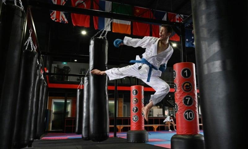 Karate Black Belt Asif Sultani