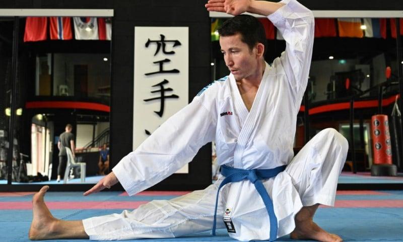 Karate Competitor Asif Sultani