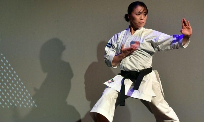 Karate Practitioner Sakura Kokumai