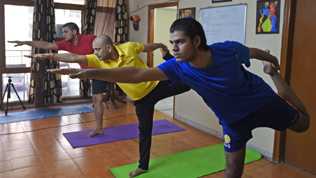 Keeping Fit During India's Lockdown.afp