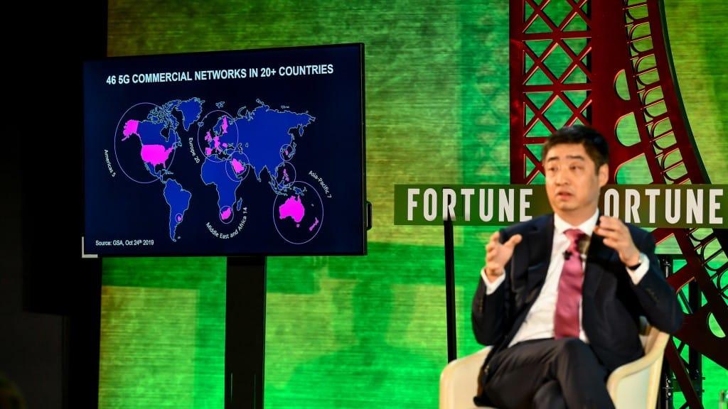 Ken Hu - Deputy Chaiman - Huawei ©Fortune Global Forum