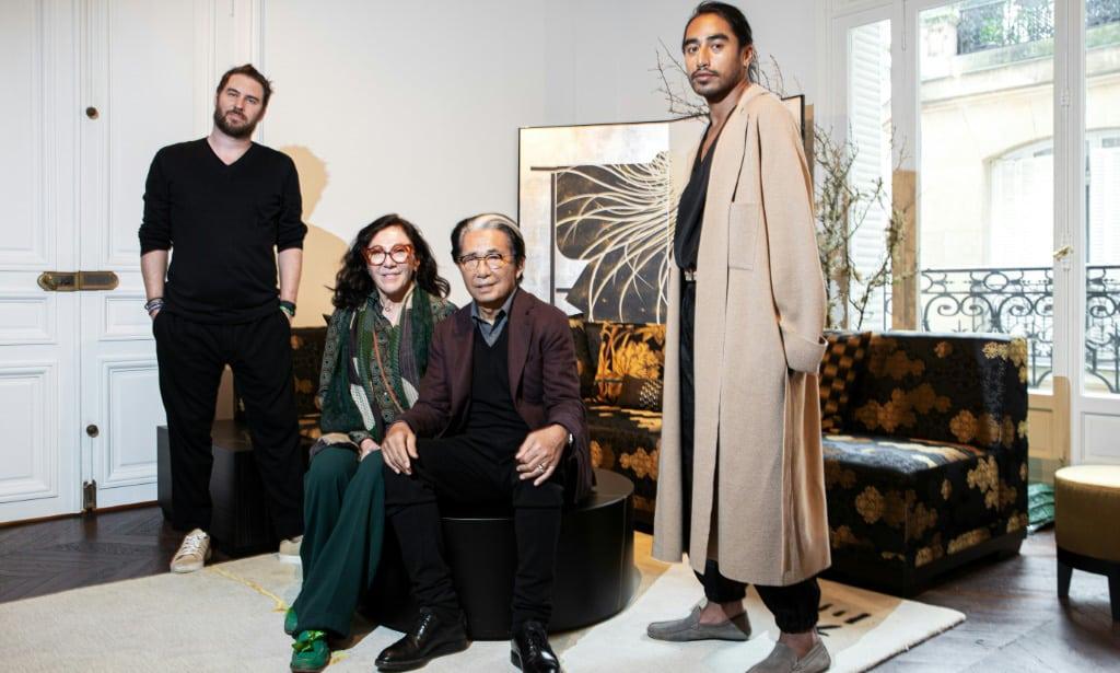 Kenzo Takada Design Team Japan.afp